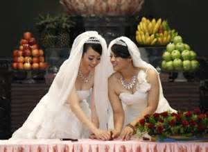 From: http://spiritualityireland.org/blog/index.php/2012/08/first-same-sex-buddhist-wedding-held-in-taiwan/
