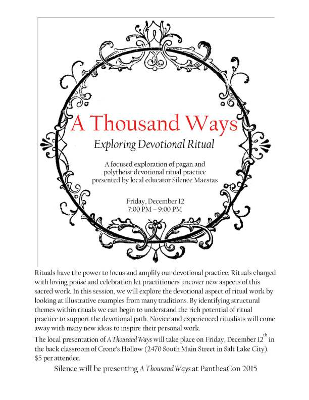 a thousand ways flyer 2015