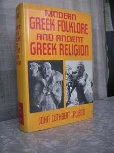Modern Green Folklore and Ancient Greek Religion
