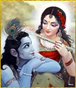 radha-playing-flute-with-krishna