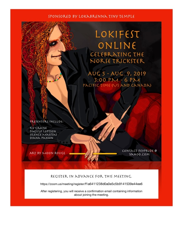 LokiFest ONLINE Best Flyer
