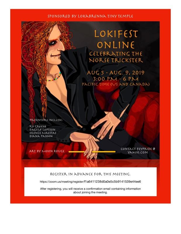 LokiFest ONLINE Best Flyer